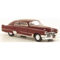 1949 Cadillac Series 62 Club Coupe Sedanette (Dark Red)