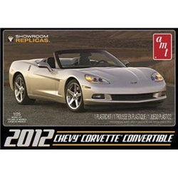 12 Corvette Convertible (Model Kit)