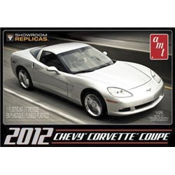 12 Corvette Coupe Showroom Replicate (Model Kit)