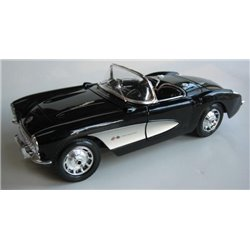 1957 Corvette (Black with White Coves)