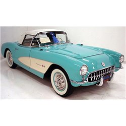 1957 Corvette (Green w/Beige Coves)
