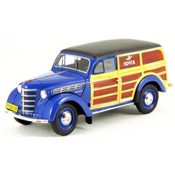 "1954 Moskvitch 401-422 Woody ""Soviet Mail Service"" (Blue)"