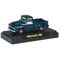 1956 Ford F-100 Pickup (Dark Blue)