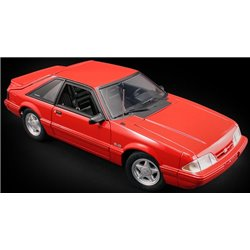 1993 Ford Mustang LX (Vermillion Red)