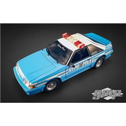 "1988 Ford Mustang GT ""NYPD Police"" (Light Blue/White)"