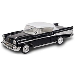 1957 Chevrolet Bel Air Hardtop (Black/White)