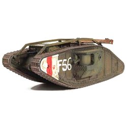 Mark IV Tank British Army, Western Front, 1917