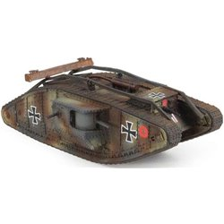 Mark IV Tank German Army, Western Front, 1917, Captured Vehicle