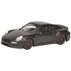 "Porsche 911 Turbo S ""Concept Black"" (Matte Black)"