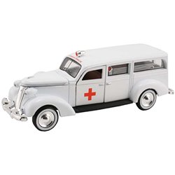 1937 Studebaker Ambulance (White)