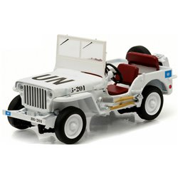 """1944 Willys Jeep MB """"UN - United Nations"""" (White)"""