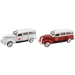 1937 Studebaker Ambulance (Set of 2)