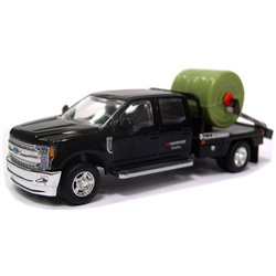 2018 Ford F-350 DewEze Parallel Squeeze Bale Feeder Truck (Black)