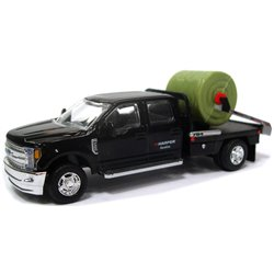2018 Ford F-350 DewEze Pivot Squeeze Bale Feeder Truck (Black)