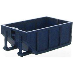 10 Yard Rolloff Dumpster - Dark Blue