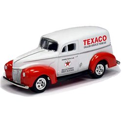 "1940 Ford Delivery Van ""Texaco"" (White/Red)"