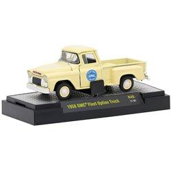 "1958 GMC Fleet Option Stepside Pickup (Cream) ""GMC - Blue Chip Trucks"""