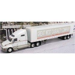 "Kenworth T2000 w/45' Dry Van Trailer ""Great West Casualty"""