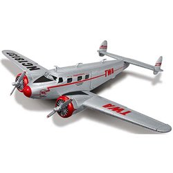 "1937 Lockheed 12A Electra Jr. (Silver/Red) ""TWA"""