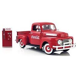 "1948 Ford F-1 Pickup w/Vending Machine ""Coca-Cola Fountain Service"" (Red)"