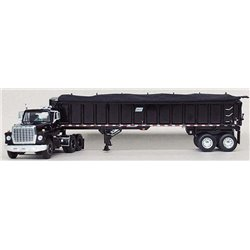 "Ford LN-9000 ""Louisville"" w/East End Dump Trailer (Black)"