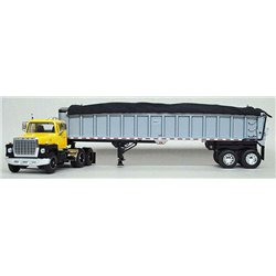 "Ford LN-9000 ""Louisville"" w/East End Dump Trailer (Yellow/Black)"