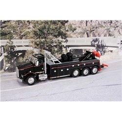 Kenworth T800 Tri-Axle w/Miller Century 9055 Wrecker & Integrated Boom (Black)