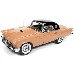 """1957 Ford Thunderbird Convertible (Coral Sand w/Black Roof) """"60th Anniversary"""""""