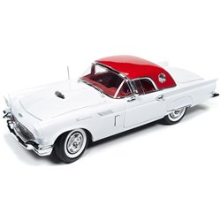 """1957 Ford Thunderbird Convertible (Gloss White) """"Christmas Issue No 3"""""""