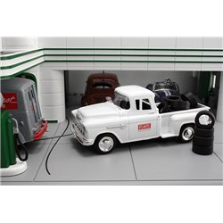"1955 Chevy Pickup ""Atlantic Oil"" w/Tire Load"