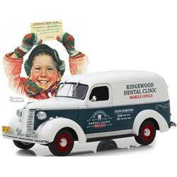 "1939 Chevy Panel Truck ""Norman Rockwell - Ridgewood Dental Clinic"""
