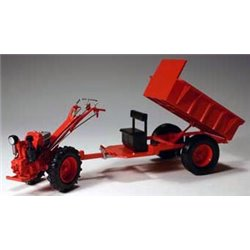 Model GN-12K Tractor with Wagon (Orange)