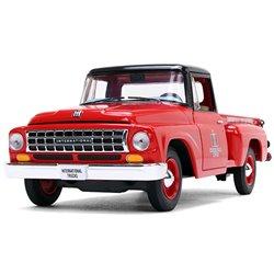 "1963 International C1100 Pickup (Red/Black) ""IH Trucks Parts & Service"""