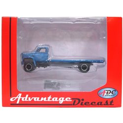 1975 Chevy C-65 Flatbed Truck (Blue)