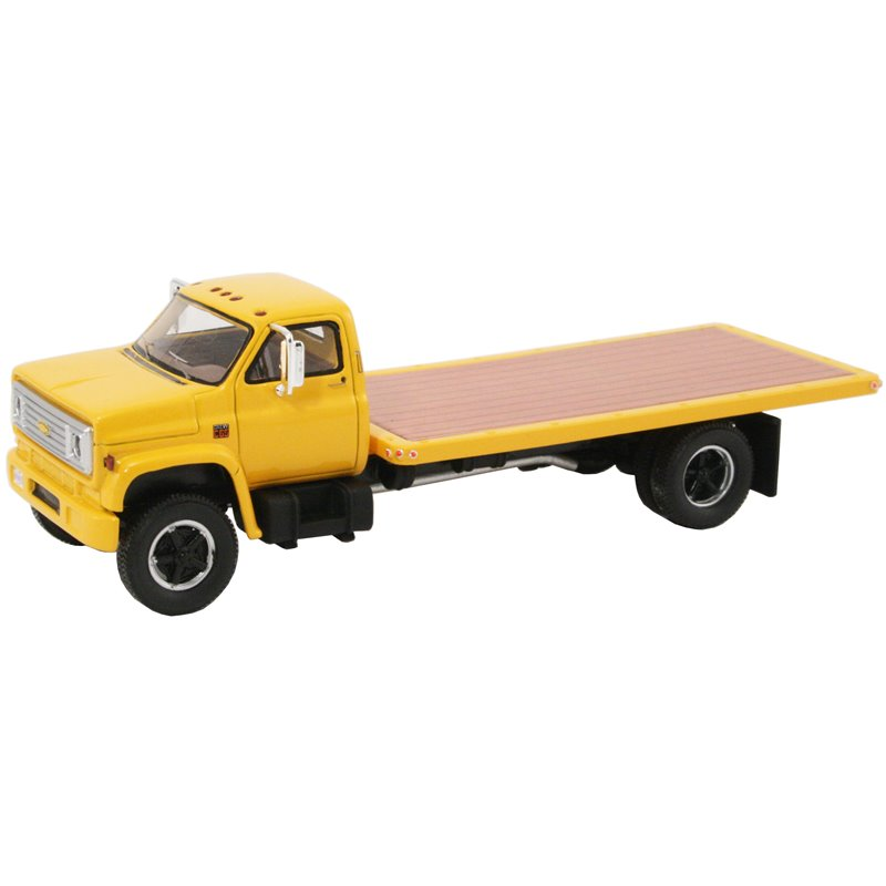 1975 Chevy C-65 Flatbed Truck (Yellow)