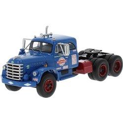 """1955 Diamond T 921B w/Integral Sleeper (Blue) """"Interstate"""""""