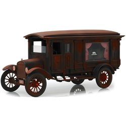 1921 Ford Model T Hearse (Unrestored - Barn Find) w/Casket