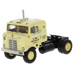 "1950 Kenworth 521 Bullnose COE (Light Yellow/Black) ""T.R. Clarke Cargo Services"""