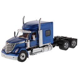 International LoneStar Mid-Roof Sleeper Tractor (Blue)