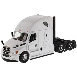 2019 Freightliner Cascadia Hi-Roof Sleeper Tractor (Pearl White)