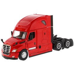 2019 Freightliner Cascadia Hi-Roof Sleeper Tractor (Red)