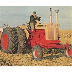 Case 1030 Tractor w/Open Station, Wide Front End & Dual Rear Wheels