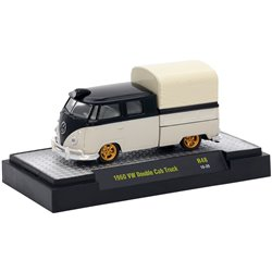1960 Volkswagen Type 2 Double Cab Pickup w/Canvas Top (Black/White)