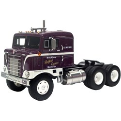 1950 Kenworth 521 Bullnose COE (Dark Plum/White)