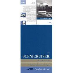 Greyhound Scenicruiser Booklet