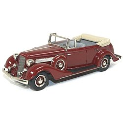 1934 Buick 68-C Series 60 4-Door Convertible Phaeton Model 68-C (Ambassador Maroon)