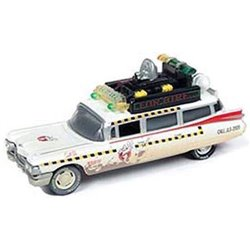 "1959 Cadillac Ambulance ""Ghostbusters II - Ecto-1A"" (White - Dirty Version)"