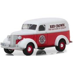 """1939 Chevy Panel Truck """"Red Crown Gasoline"""""""