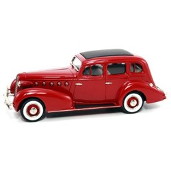 1934 LaSalle Series 350 4-Door Sedan (Maroon)