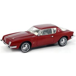 1963 Studebaker Avanti Supercharged (Avanti Red)